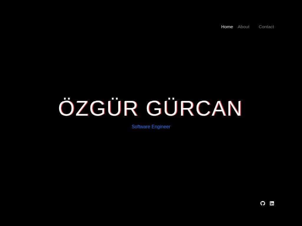 Özgür Gürcan